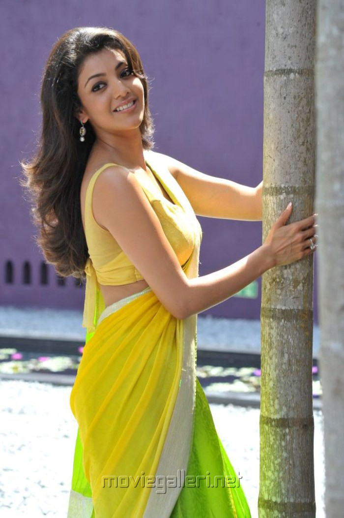 Picture 188930 | Kajal Agarwal Hot Saree in Businessman ...