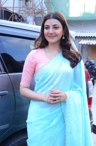 Actress Kajal Agarwal Images @ Priya Gold Oils Promotional Activity