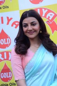 Actress Kajal Agarwal Images @ Priya Gold Oils Brand Ambassador