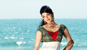 Actress Kajal Agarwal in AVR Swarna Mahal Ad Photo Shoot Gallery
