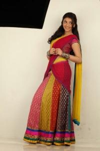 Kajal Agarwal Hot in Half Saree Photo Shoot Pics