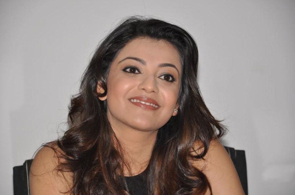 Yevadu Movie Actress Kajal Agarwal Interview Photos