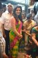 Kajal Agarwal launches Kalanikethan Shopping Mall @ Kothapet, Hyderabad
