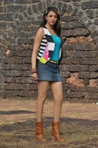 Kajal Agarwal Mini Skirt Hot Pics