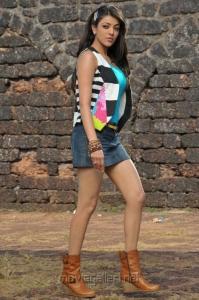 Kajal Agarwal Hot Mini Skirt Spicy Stills