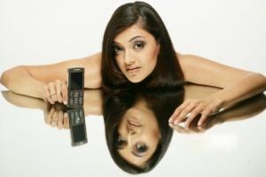Cute Kajal Mobile Ad Photo Shoot Stills