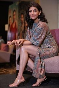 Actress Kajal Agarwal Photos @ Mosagallu Movie Interview