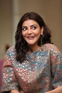 Mosagallu Movie Actress Kajal Agarwal Interview Photos