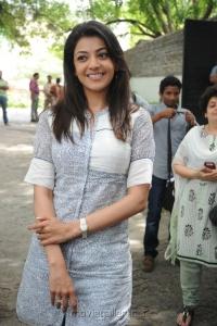 Kajal Agarwal Cute Smile Pics
