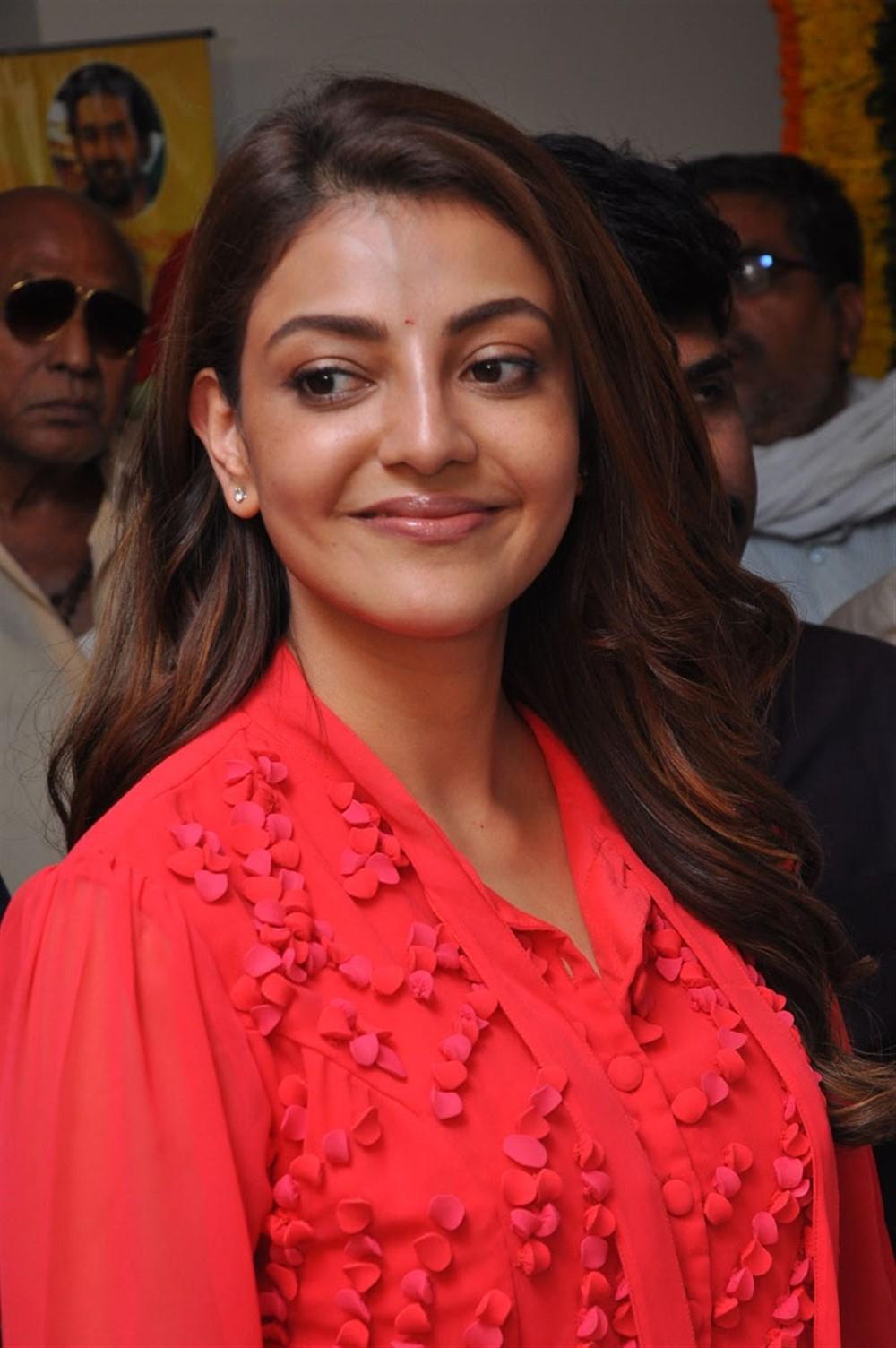 Actress Kajal Agarwal New Pics @ Manu Charitra Movie Launch