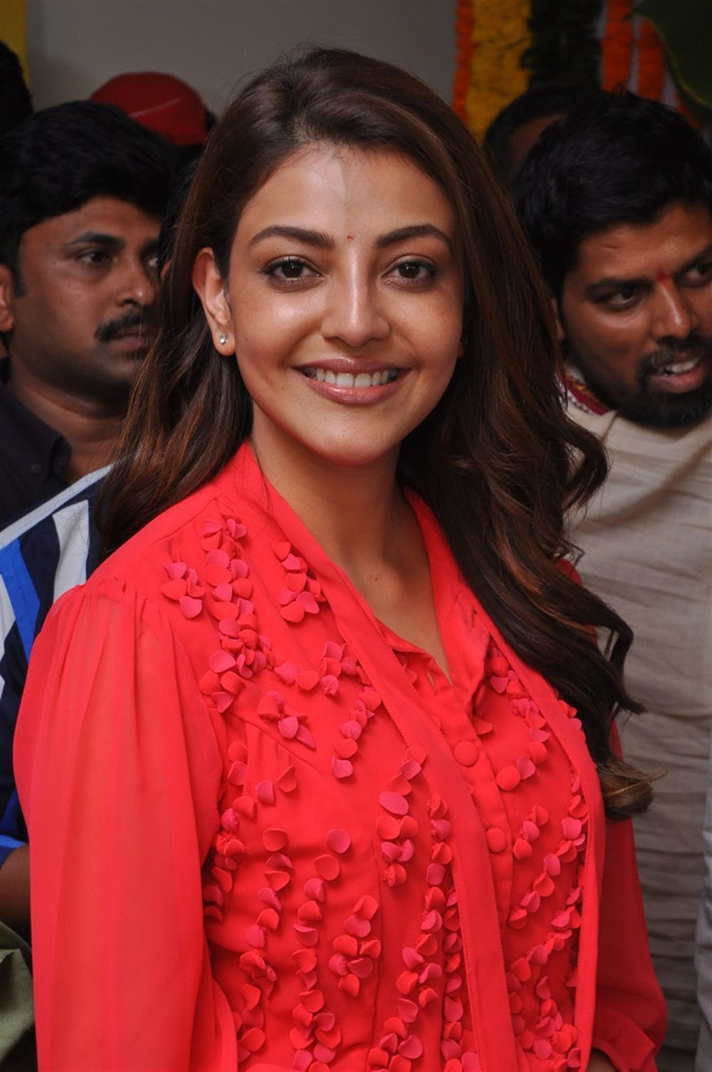 Actress Kajal Agarwal New Pics @ Manu Charitra Movie Launch