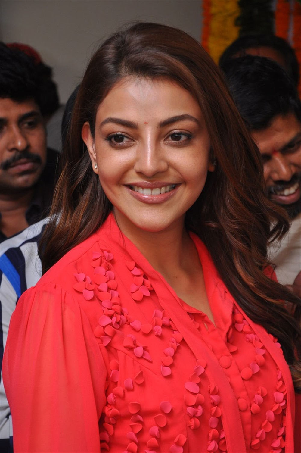 Actress Kajal Agarwal Pics @ Manu Charitra Movie Launch