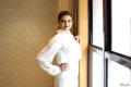Actress Kajal Agarwal White Dress New Pics @ Paris Paris Movie Opening