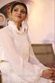 Actress Kajal Agarwal White Dress New Pics @ Paris Paris Movie Launch