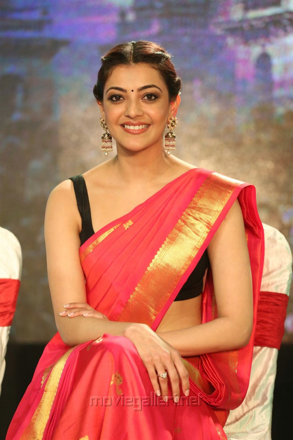 Telugu Actress Kajal Agarwal New Cute Beautiful Stills