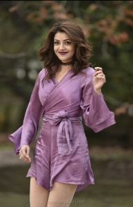 Actress Kajal Agarwal Photos in Khaidi No 150