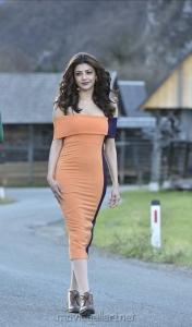 Actress Kajal Agarwal Photos in Khaidi No 150 Movie