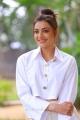 Heroine Kajal Aggarwal Photos @ Kavacham Movie Interview