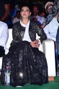 Actress Kajal Agarwal Pics @ Kavacham Audio Launch