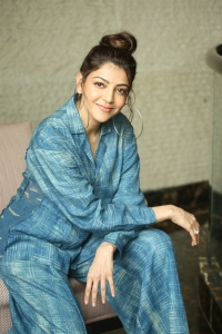 Ranarangam Heroine Kajal Agarwal Interview Photos