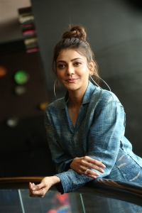 Actress Kajal Agarwal Photos @ Ranarangam Movie Interview