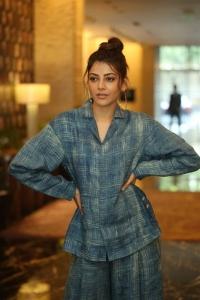 Ranarangam Movie Heroine Kajal Interview Photos