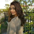 Actress Kajal Agarwal Stills @ Vijay 61 Movie Shooting