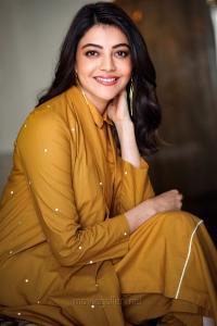 Beautiful Kajal Aggarwal Latest Photos @ Comali Movie Promotions