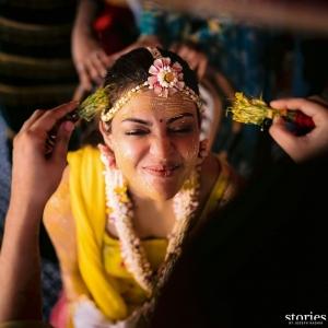 Actress Kajal Aggarwal Marriage Photos