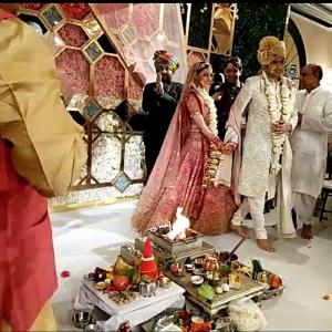 Kajal Aggarwal Gautam Kitchlu Wedding Pics