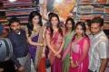 Kajal Agarwal & Deeksha Seth at Kalamandir Showroom Stills