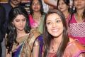 Kajal and Deeksha at kalamandir Launch Photos