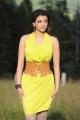 Actress Kajal Hot Images in Green Yellow Dress