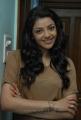 Kajal Agarwal Latest Photoshoot Pics in Light Brown T Shirt