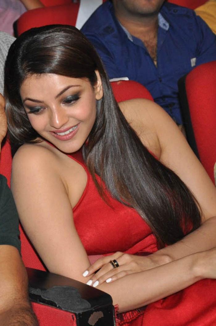 actress kajal stills temper audio launch new movie posters