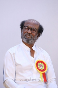 Rajinikanth @ Writer Kalaignanam Felicitation Function Photos