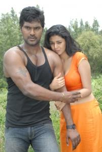 Ajay, Sanam Shetty in Kalaivendhan Tamil Movie Stills
