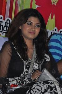 Actress Oviya at Kalakalappu Audio Launch Stills
