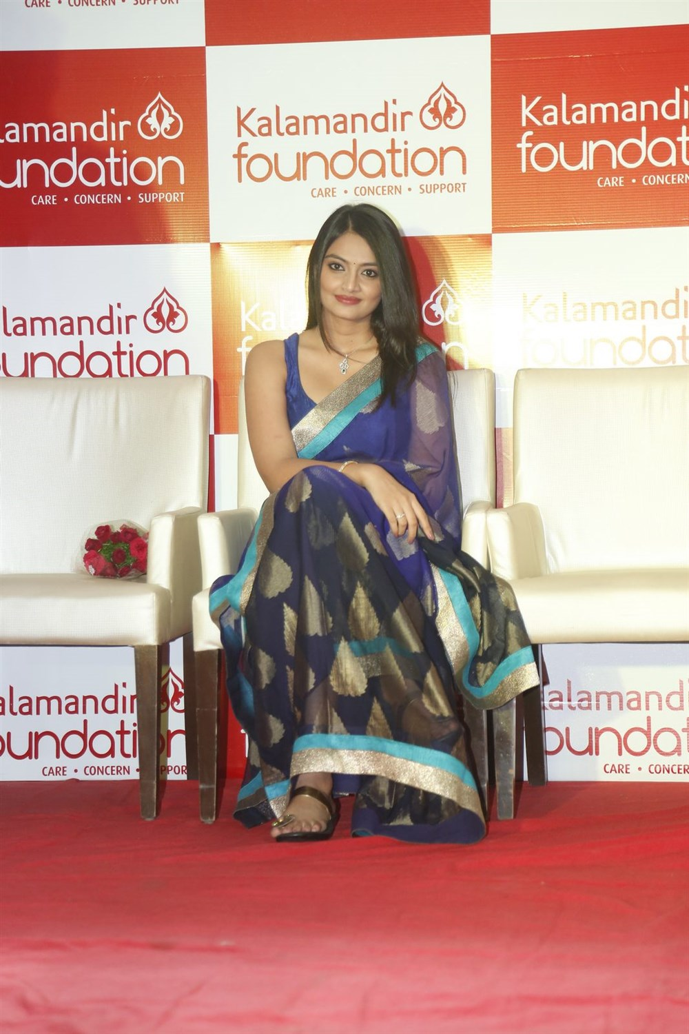 Nikita Narayan @ Kalamandir Foundation 5th Anniversary Celebrations Photos