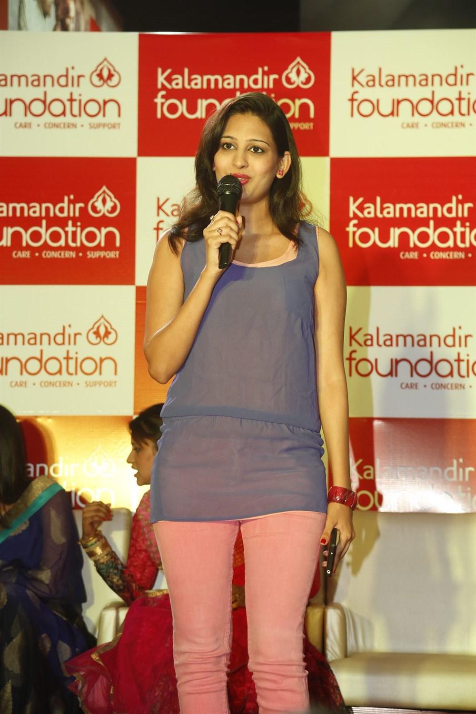 Shweta Jadhav @ Kalamandir Foundation 5th Anniversary Celebrations Photos