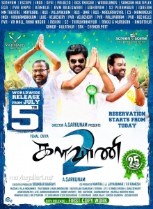 Mannai Sathik, Vimal in Kalavani 2 Movie Release Posters