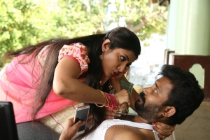 Aditi Menon, Dinesh in Kalavani Mappillai Movie Images HD