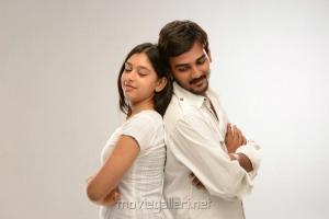 Ajay,Nidhi Taylor in Kaliyugam Movie Stills