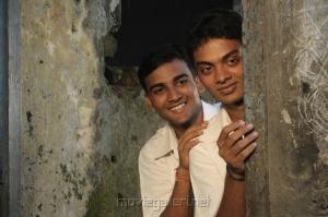 Vinod Kishan, Ajay in Kaliyugam Movie Stills