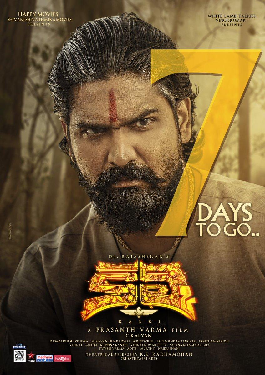 Shatru in Kalki Movie Release Posters