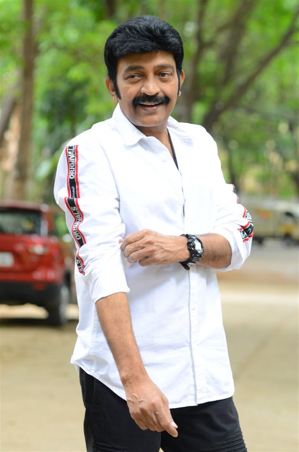 Kalki Movie Hero Dr Rajasekhar Interview Stills