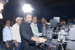 Ponvannan, RK Selvamani, Rajapandi @ Kallapart Movie Pooja Stills