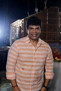 Anandaraj @ Kallapart Movie Pooja Stills