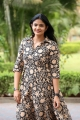 Telugu Actress Kalpika Ganesh Pictures @ Sita On The Road Trailer Launch