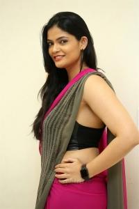 Actress Kalpika Ganesh Hot Saree Latest Pics HD